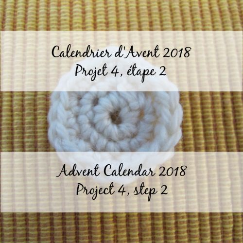 Advent Calendar 2018 – Flower 4, step 2