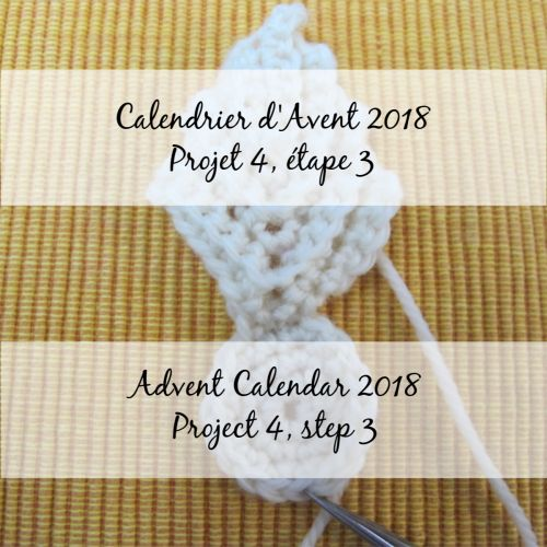 Advent Calendar 2018 – Flower 4, step 3
