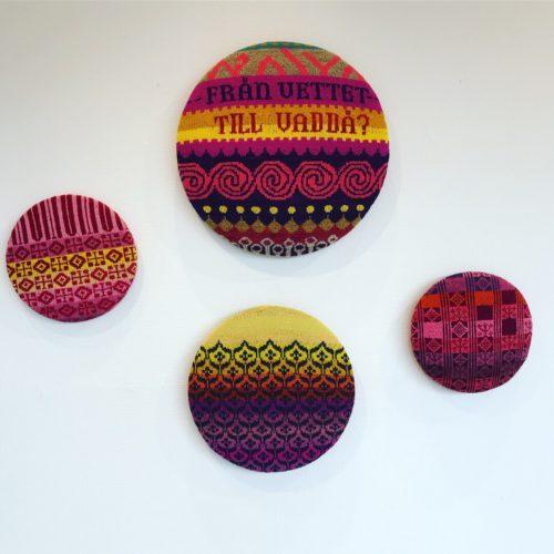 Anna Bauer, a Swedish textile artist