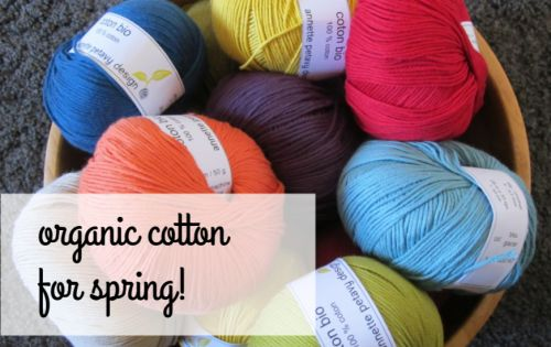 Organic cotton for spring!